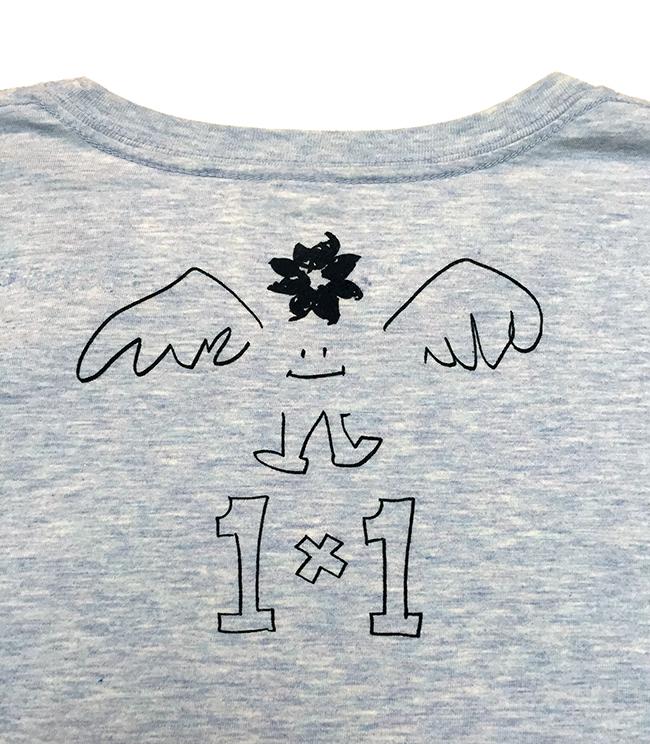 1×1 Tシャツ