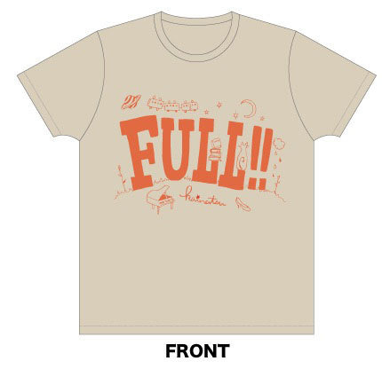 FULL!(満足!)Tシャツ
