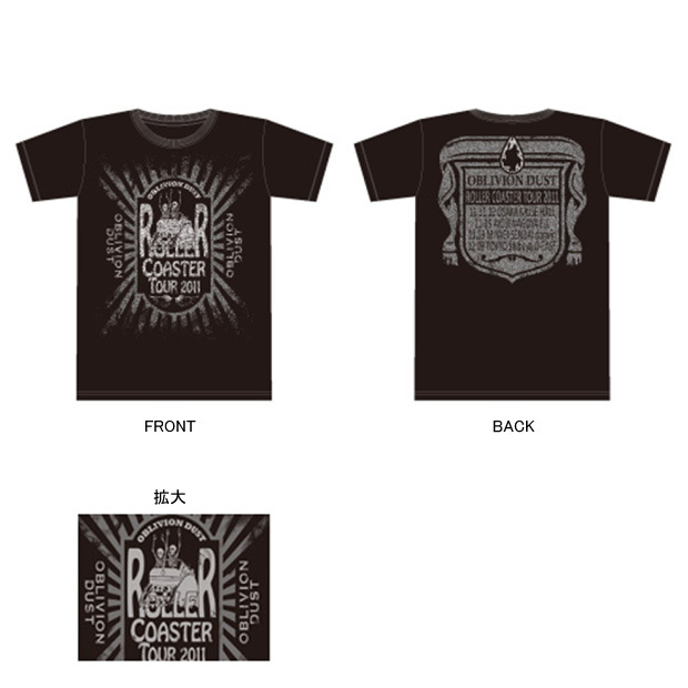 Tシャツ [Roller Coaster Tour 2011]