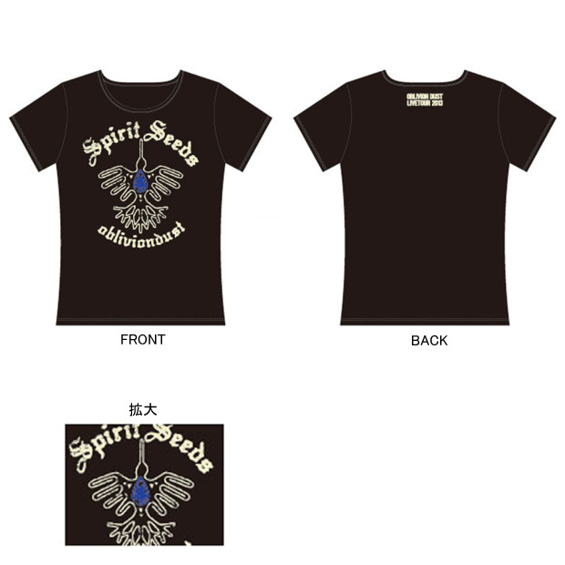 "Tシャツ [TOUR 2013 ""Spirit Seeds""]"