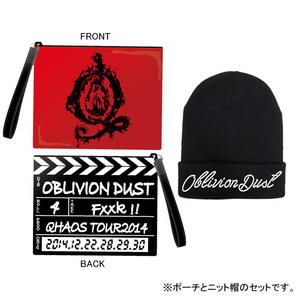 ニット帽&ポーチセット [Qhaos Tour 2014]
